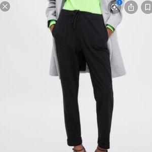 Zara TRF Black Sleek Joggers